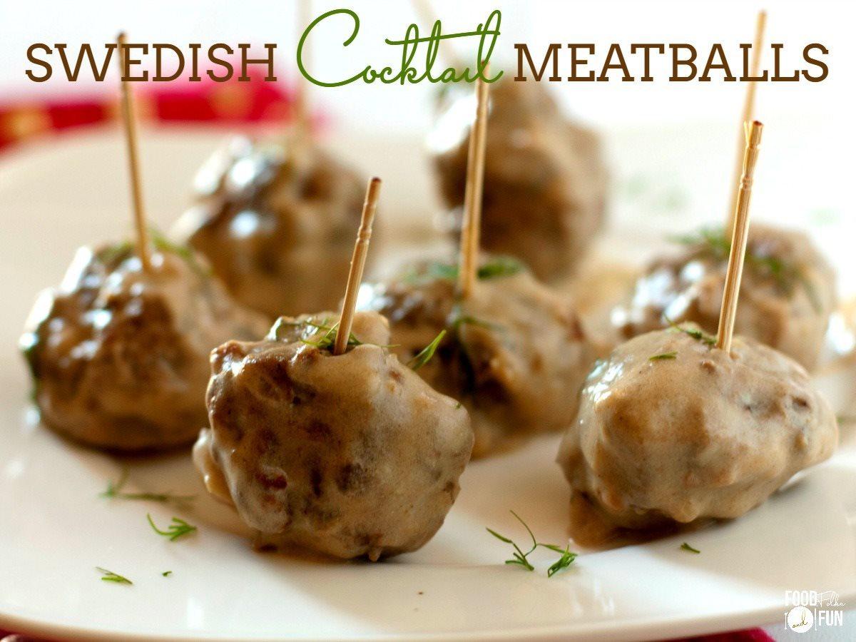 Swedish Meatball Recipe