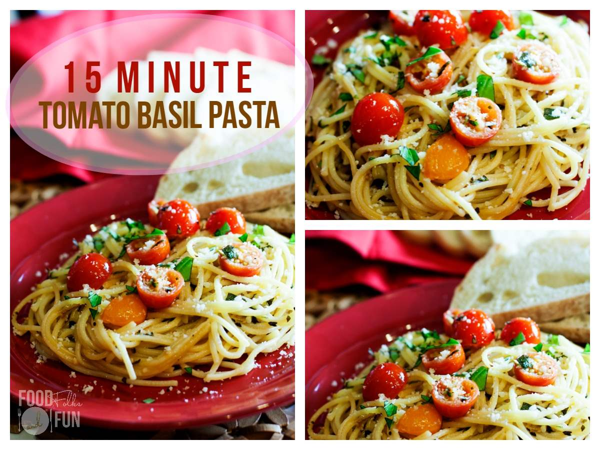 tomato basil pasta tomato basil pasta a 15 minute recipe food folks and 11959