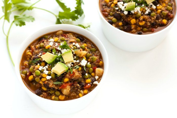 This Southwest Quinoa Stew recipe is the perfect comfort food for helping you keep your healthy living goals for the New Year.