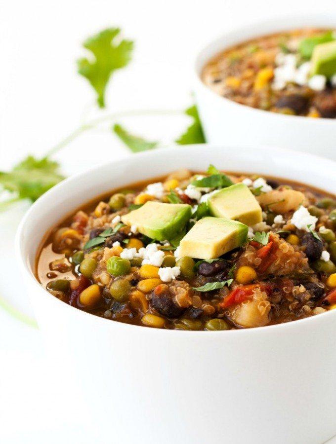 Southwest Quinoa Stew