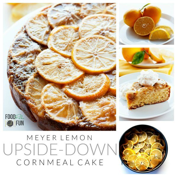 Meyer Lemon Cornmeal Cake