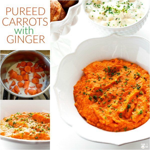 This Carrot Puree with Ginger recipe is a healthy and tasty side dish for Easter and Spring Entertaining. You can make this carrot puree up to 3 days in advance!