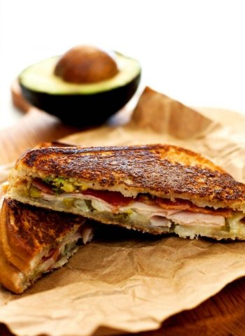 A close-up of Monterey Grilled Cheese Sandwich