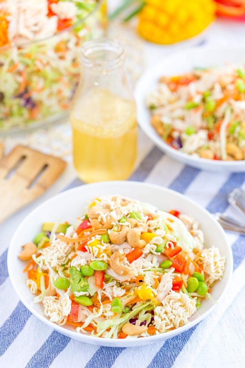 How to make: Raman Noodle Salad