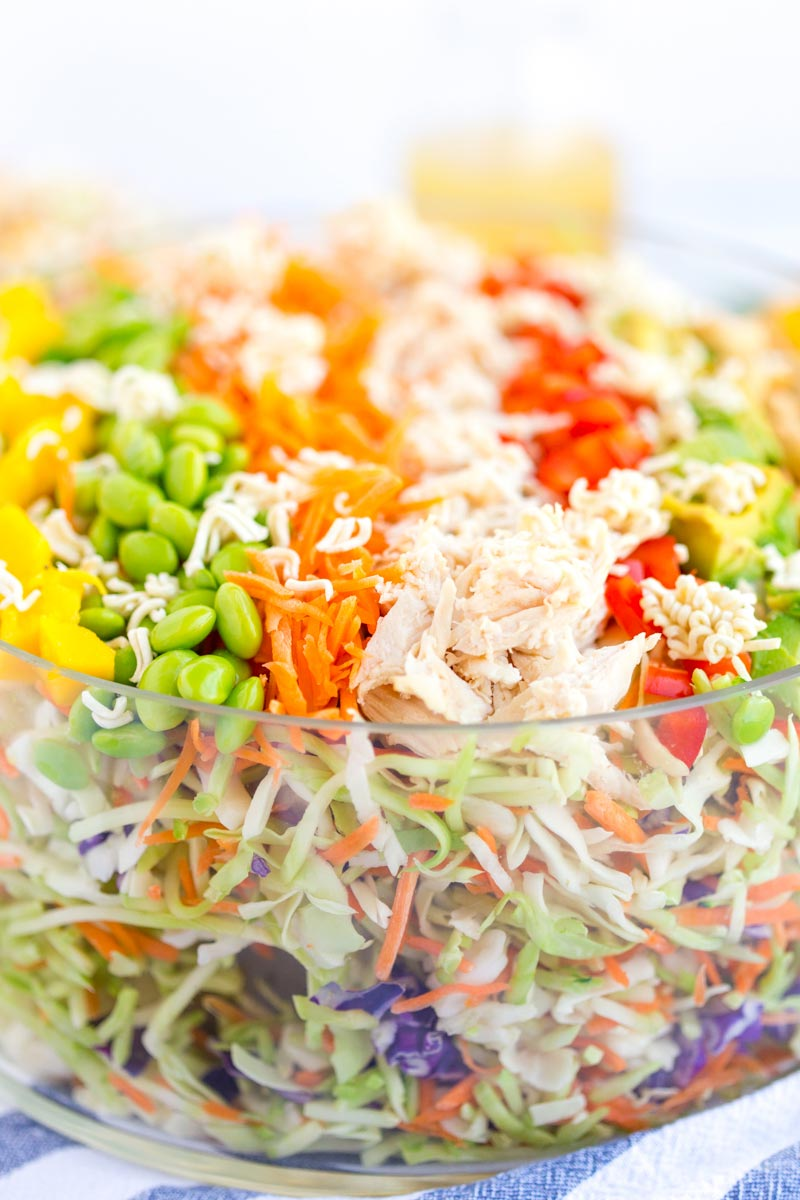 Best Raman Noodle Salad recipe