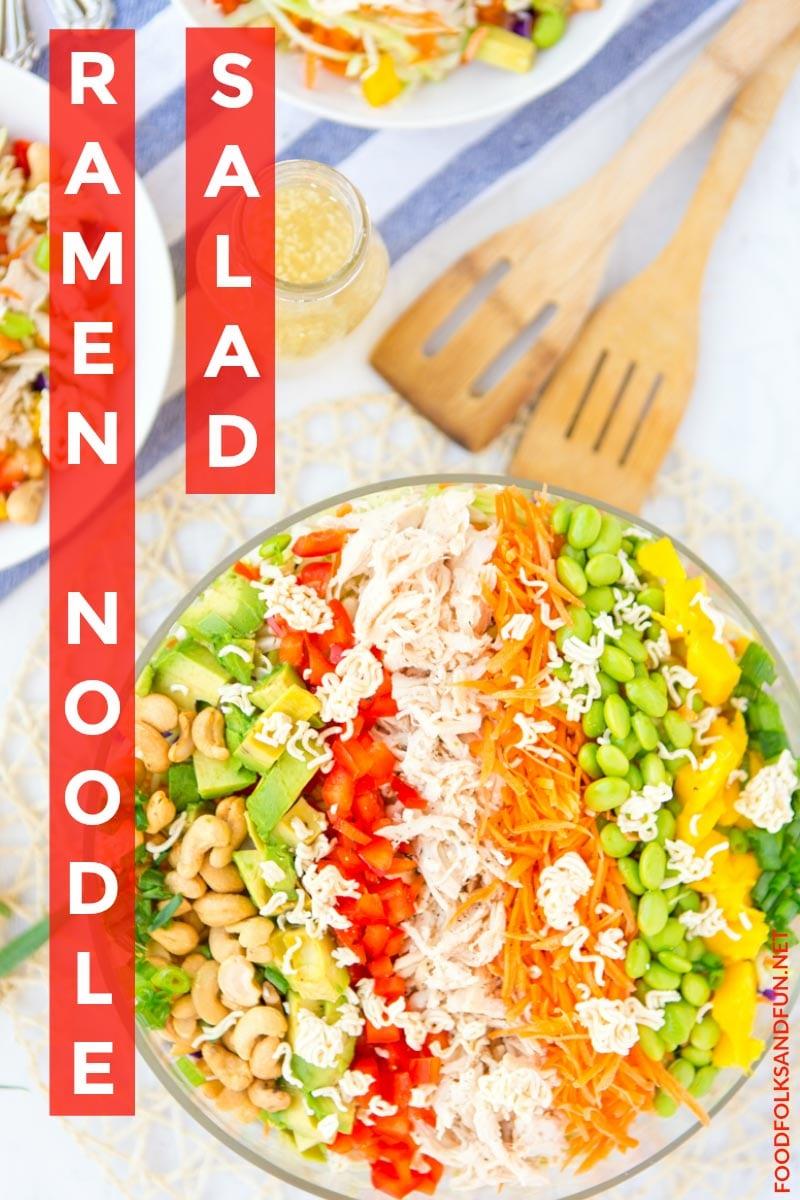 How to Make: Raman Noodle Salad recipe