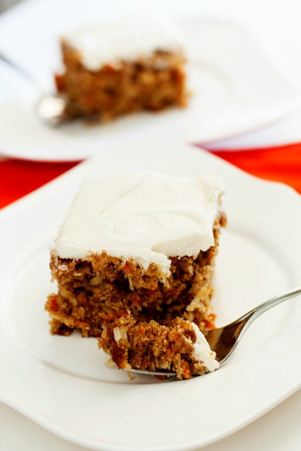 Simple Carrot Cake Recipe No Nuts