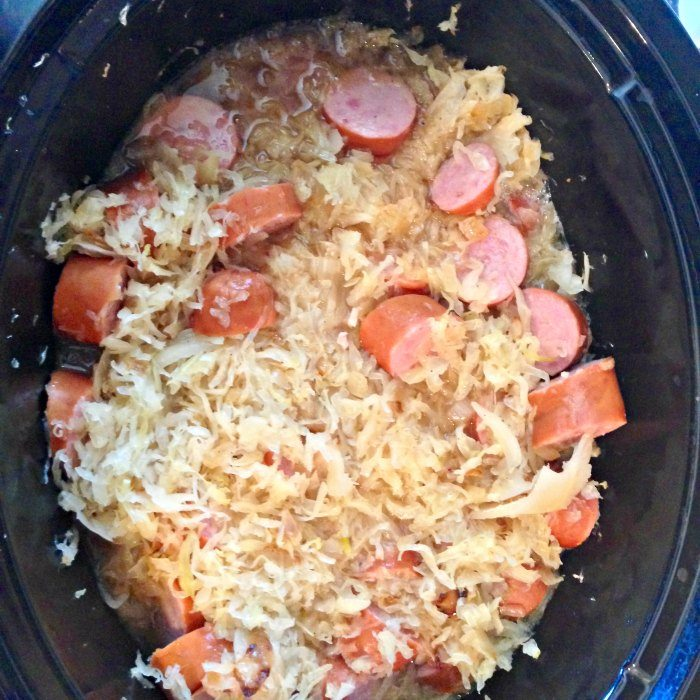 This recipe for Kielbasa Kapusta is my family's traditional Polish Kapusta recipe made in a slow cooker!