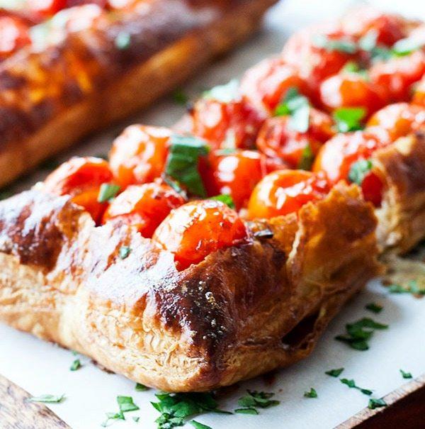 Easy Goat Cheese Tomato Tart