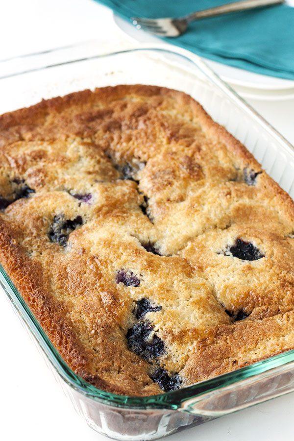 Texas Blueberry Cobbler recipe