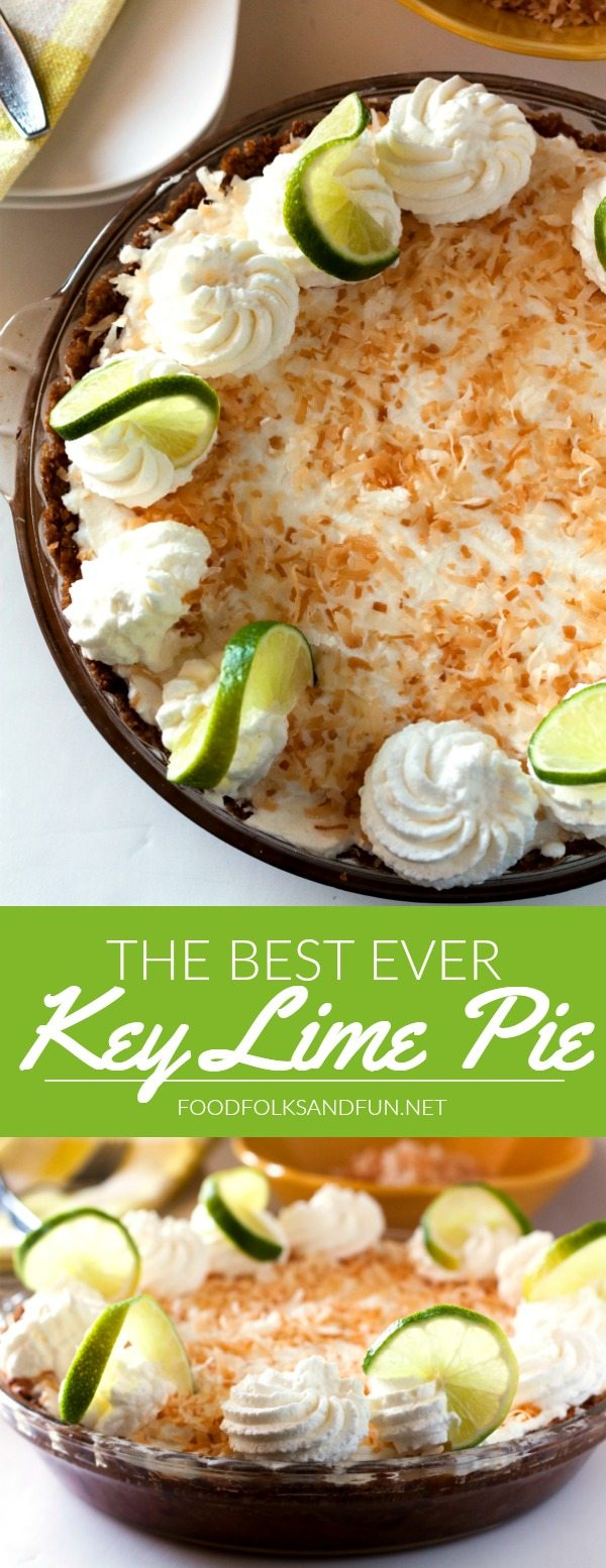 lime pie with a graham cracker coconut crust recipe from key lime pie ...