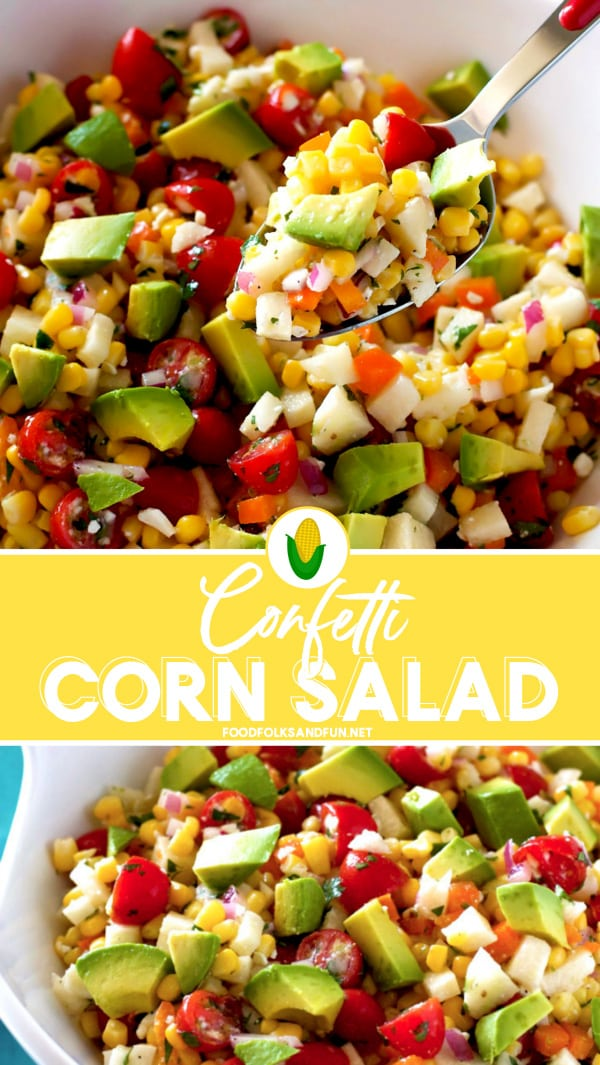 Mexican Corn Salad for an easy side dish!