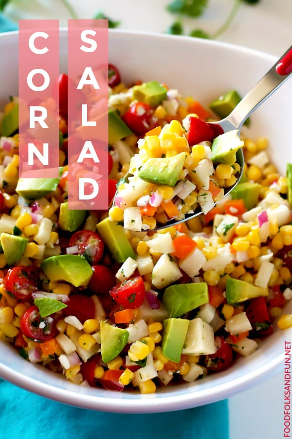 Tasty Corn Salad recipe