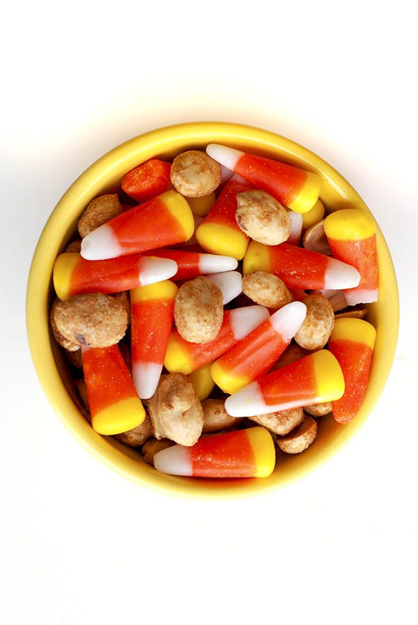 Sweet & Salty Candy Corn Snack Mix