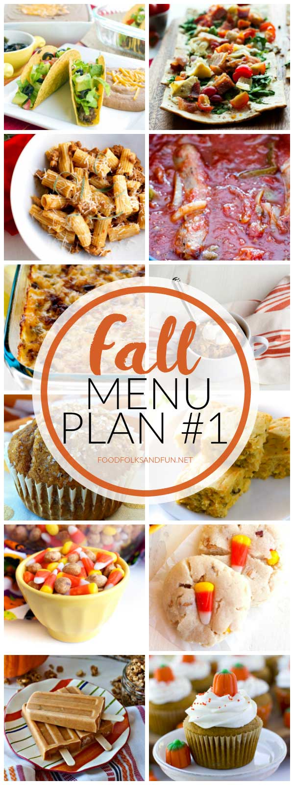 fall menu plan 1 printable shopping list food folks