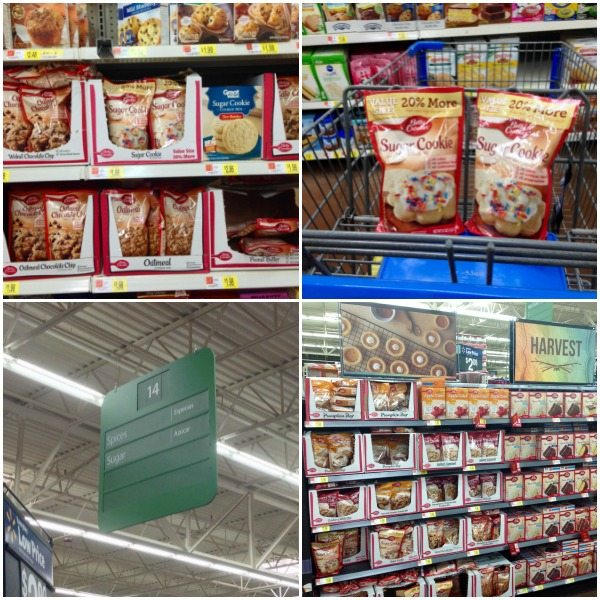 Cookie Mix at Walmart