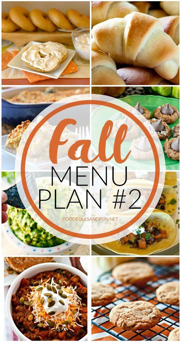 Fall Menu Plan #2