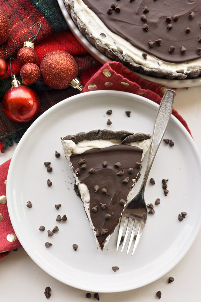 Chocolate Cannoli Tart 4