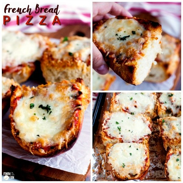 Serve this French Bread Pizza for pizza night, weeknights, or weekends. It's delicious and so easy to make; get it on your table in just 30 minutes!