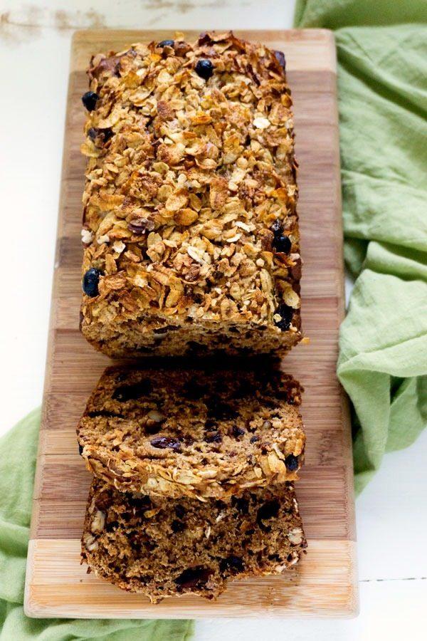 Crunchy Date Nut Bread
