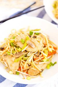 The best Chicken Chow Mein recipe.
