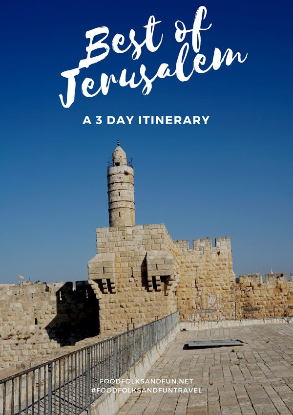 In thisBest of Jerusalem Travel – a 3 Day Itinerary post, discover the best of what this holy city has to offer and how to see it in just 3 days! via @foodfolksandfun