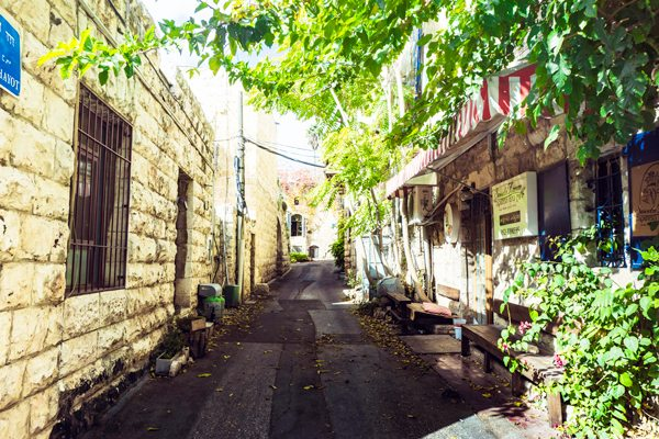 Get lost wondering the beautiful streets of Ein Karem.