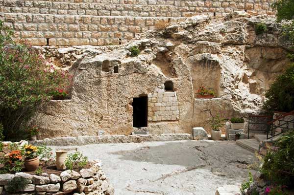 The Garden Tomb in Jerusalem, Israel.