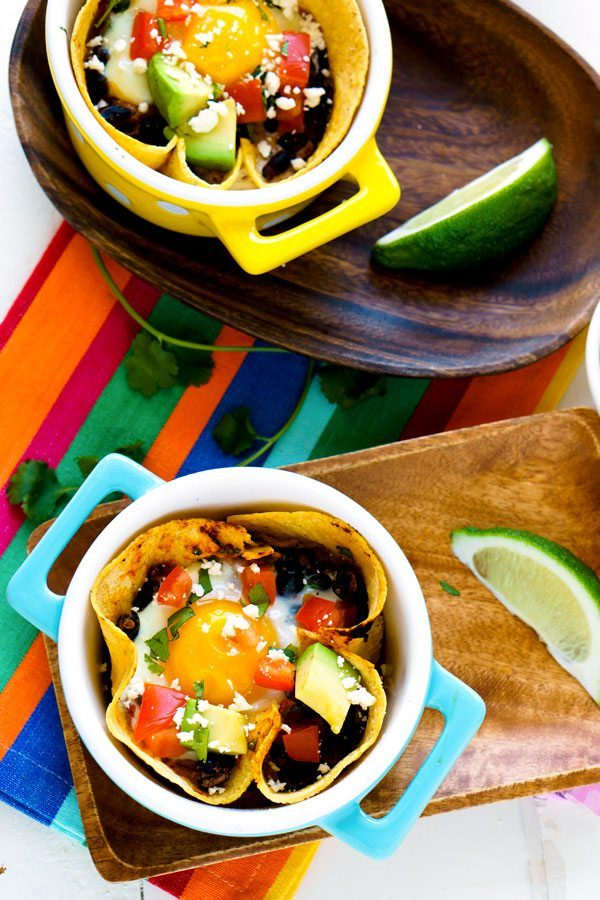 Healthy Huevos Rancheros Breakfast Bowls