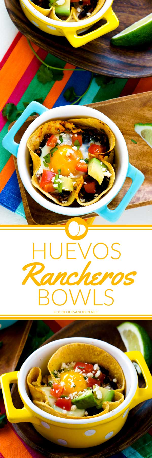 TheseHealthy Huevos Rancheros Breakfast Bowls are not only easy to make but so satisfying and good for you! via @foodfolksandfun