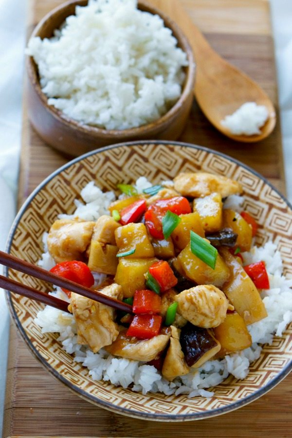 Sheet Pan Stir-Fried Chicken Teriyaki
