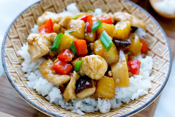 Sheet Pan Stir Fried Chicken Teriyaki With Pineapple