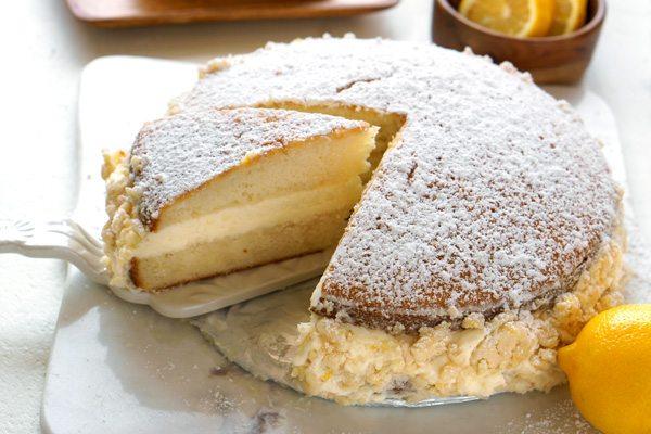 Copycat Olive Garden Lemon Cream Cake • Food, Folks And Fun