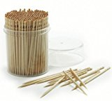 a container of toothpicks