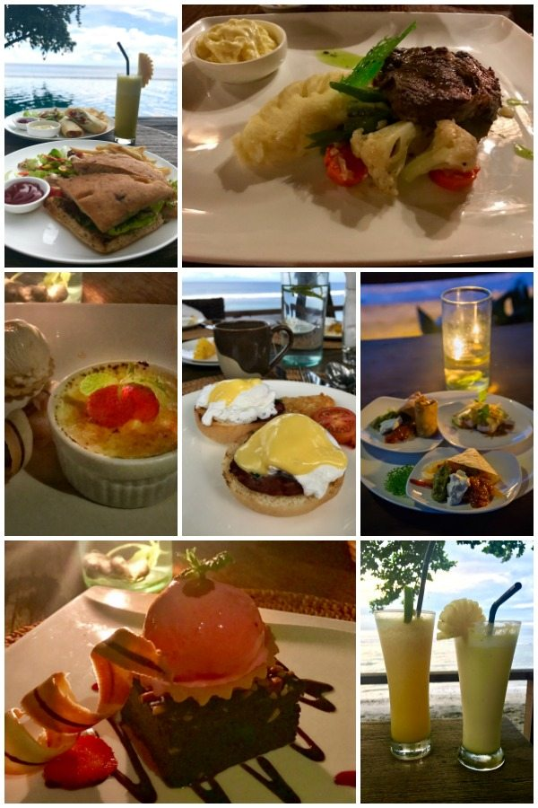 Where to stay in Lombok - Jeeva Klui Resort food