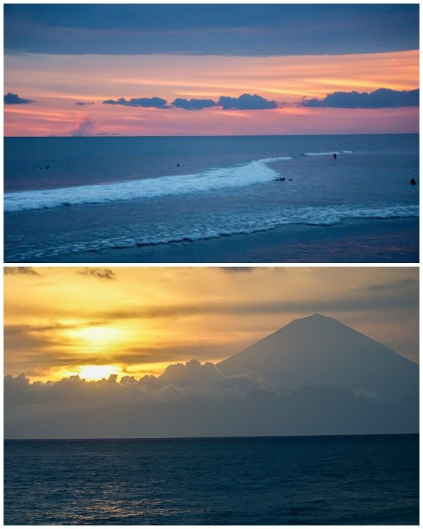 Beautiful Sunset on Lombok Senggigi - Jeeva Klui Resort