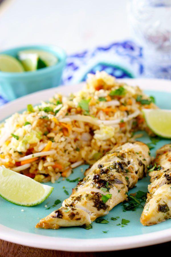 Easy Cilantro Thai Chicken