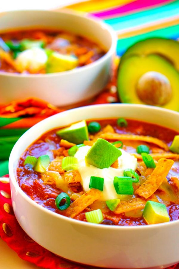 Chicken Taco Soup recipe for busy weeknight meals.