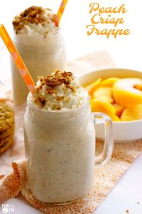 The best Peach Frappe recipe