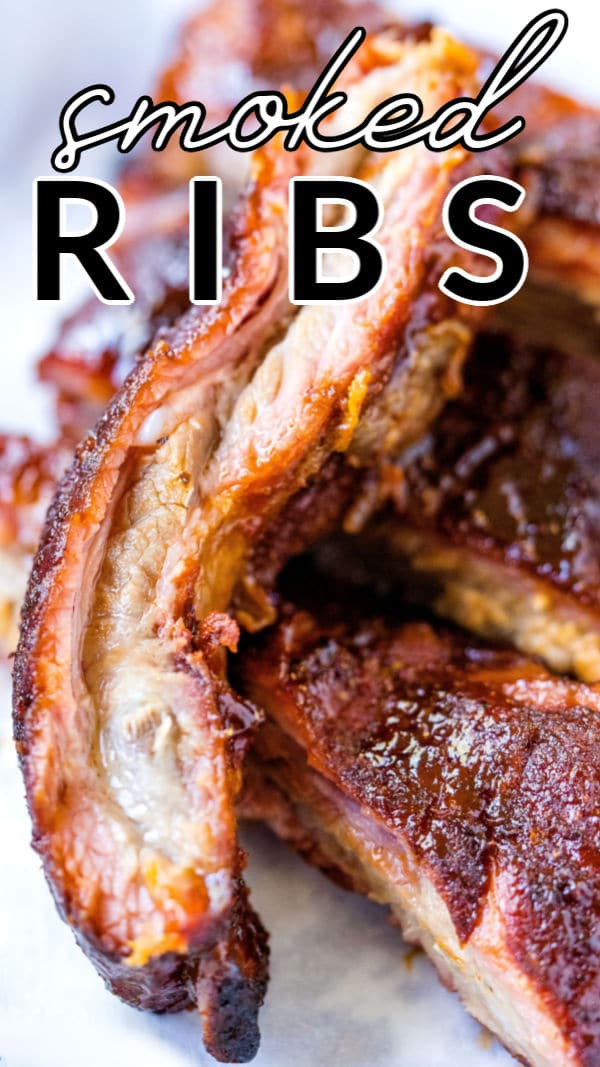 This Smoked Ribs recipe is juicy, succulent, and so flavorful. These smoked spare ribs are perfect for your next summer BBQ and cost just $1.85 per serving to make! via @foodfolksandfun