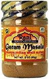 A bottle of garam masala spice
