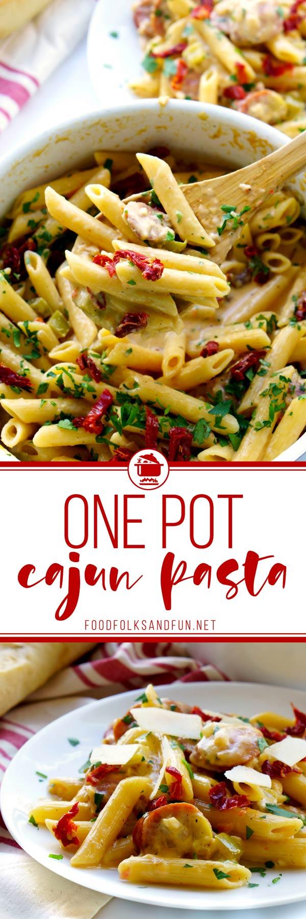 One Pot Cajun Pasta