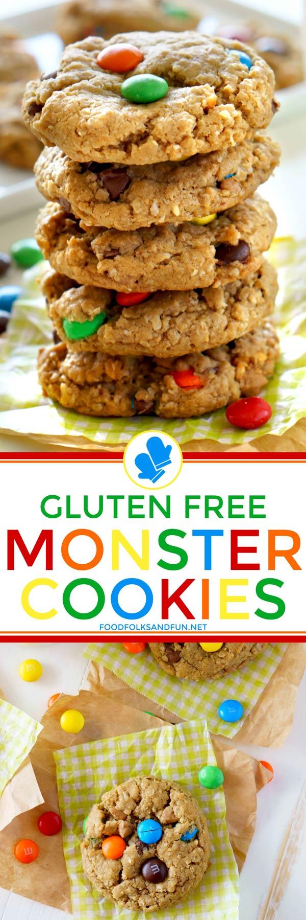 Gluten-Free Monster Cookies Recipe