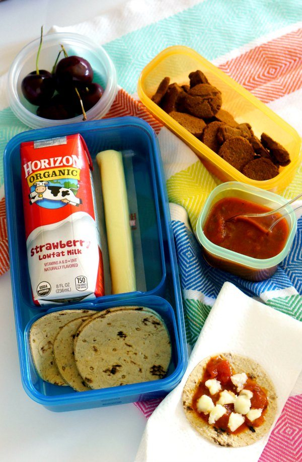 Lunch Box Pizza that kids love