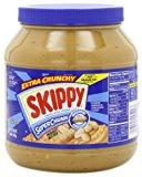 A jar of extra crunchy peanut butter