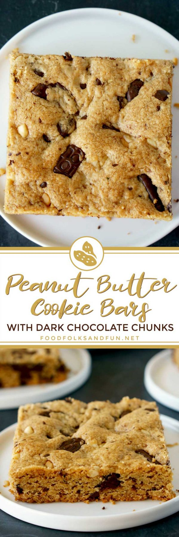 Easy Peanut Butter Cookie Bars recipe.