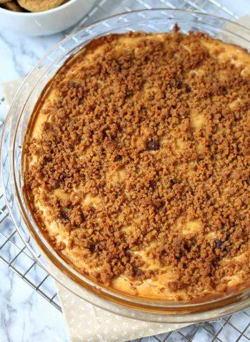The best-ever Baked Pumpkin Cheesecake Dip