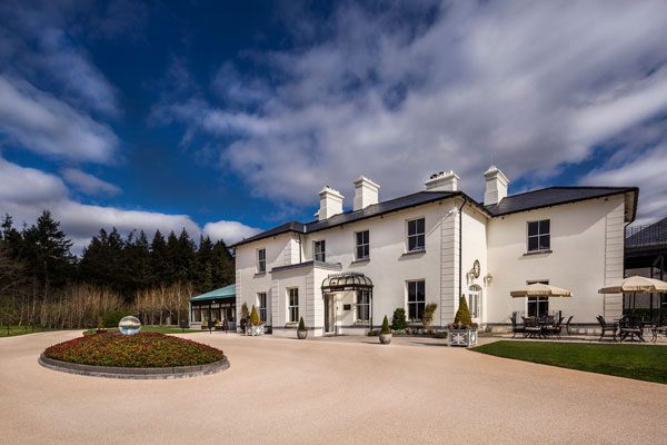 The Lodge exterior in Con, County Mayo Ireland