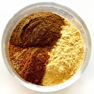 All the ingredients needed to make Homemade Pumpkin Pie Spice