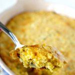 Best Cornbread Casserole with Cheese!